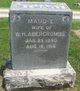 Profile photo:  Maud E. <I>Stuart</I> Abercrombie