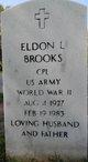 Eldon L Brooks