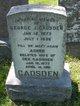 Profile photo:  Agnes Gadsden