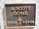 Profile photo:  A. Scott Doyle