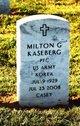 Profile photo:  Milton George Kaseberg