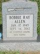 Profile photo:  Bobby Ray Allen