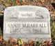 """Profile photo:  Anna Margaret """"Annie"""" <I>Davies</I> Barrall"""