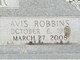 Avis <I>Robbins</I> Burr