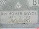 Rev Homer Boyce Burr