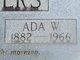 Profile photo:  Ada <I>Wiggins</I> Sanders