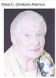Profile photo:  Ethel Caroline <I>Gretzer</I> Allerton