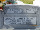 Profile photo:  Anages James Savoy