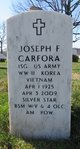 Joseph F Carfora