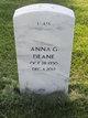 Profile photo:  Anna G Deane