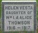 Helen Vesta Thomson