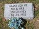 Profile photo:  Infant Son Chaney