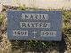 Profile photo:  Maria Baxter