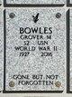 Profile photo:  Grover Manuel Bowles