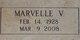 Marvelle V. <I>Vickers</I> Cappadozy
