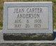 Jean Carter Anderson