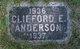 Profile photo:  Clifford E. Anderson