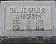 Sallie Louise Anderson