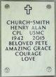 "Henry Alan ""Pete"" Church-Smith"