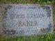 Doris Evelyn Baker