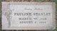 Pauline Stanley
