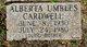 Profile photo:  Alberta Frances <I>Umbles</I> Cardwell