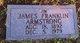 """James Franklin """"Jim"""" Armstrong"""