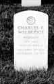 Profile photo:  Charles R Walbridge
