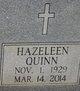 Profile photo:  Verna Hazeleen <I>Quinn</I> Heavner