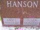 Annie S <I>Larson</I> Hanson