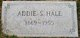 Addie S. <I>Merrill</I> Hale