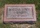 Martha Ann <I>Ware</I> Lowry