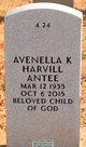 Profile photo: Mrs Avenella Lee <I>Kelly-Harvill</I> Antee