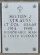 Profile photo:  Milton J Strauss