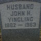 Profile photo:  John Henry Yingling