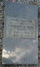 Infant Daughter of Cleveland & Verna Barnes