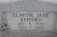 Claytie Jane Kepford