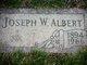 Profile photo:  Joseph William Albert