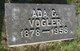 Profile photo:  Ada Catherine <I>Compton</I> Vogler