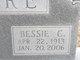 Profile photo:  Bessie C. Bare