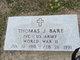 Profile photo:  Thomas Joe Bare