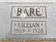 Profile photo:  Lillian Bare