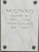 LTJG Harry Wilkeson McGinnis