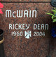 Profile photo:  Rickey Dean McWain