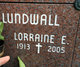 Profile photo:  Lorraine E Lundwall