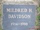 Mildred H. Davidson