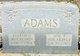 Profile photo:  Alfred M. Adams