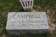 Julia Amelia <I>Croxton</I> Campbell