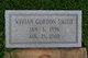 Vivian <I>Gordon</I> Smith