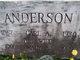 Mary A <I>Olson</I> Anderson